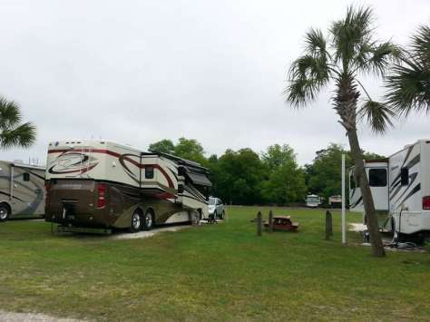 Red Gate Campground & RV Resort in Savannah Georgia2