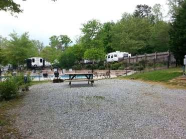Rutledge Lake RV Resort in Fletcher North Carolina06