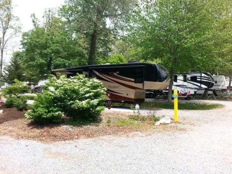 Rutledge Lake RV Resort in Fletcher North Carolina10