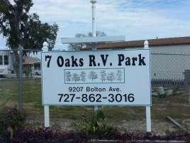 Seven Oaks Travel Resort in Hudson Florida1