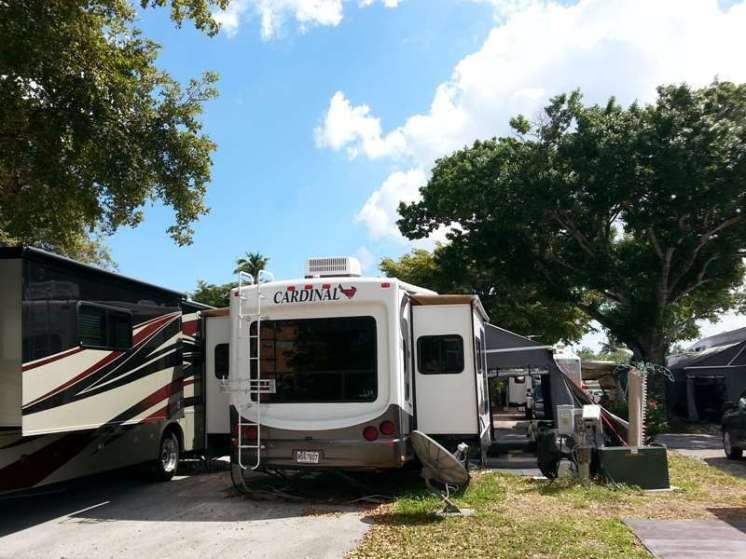 Sunshine Holiday RV Resort in Fort Lauderdale Florida6