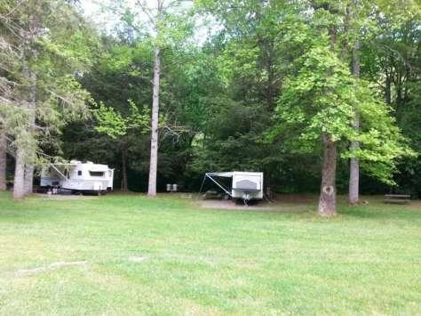 Timberlake Campground in Whittier North Carolina2