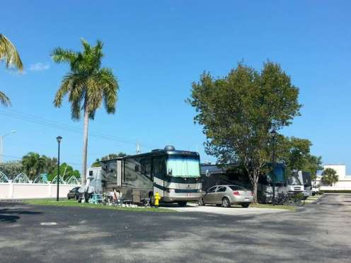Trinity Towers RV Park in Hollywood Florida3