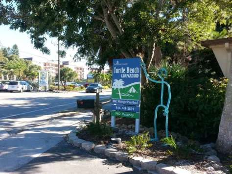 Turtle Beach Campground, located on Siesta Key Florida1