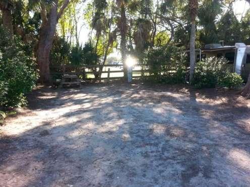 Turtle Beach Campground In Sarasota Florida Fl