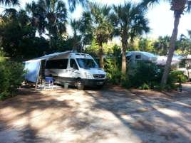 Turtle Beach Campground, located on Siesta Key Florida9