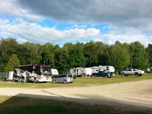 White Birches Camping Park in Gorham1