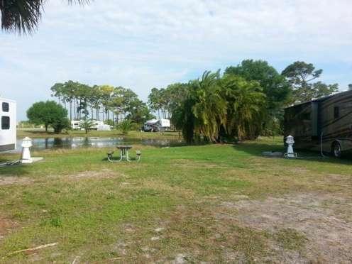 Wickham Park Campground in Melbourne Florida2