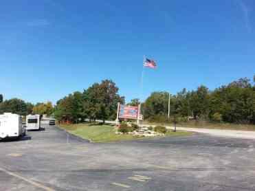 America's Best Campground in Branson Missouri Sign