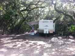 Anastasia State Park in St. Augustine Florida RV Site