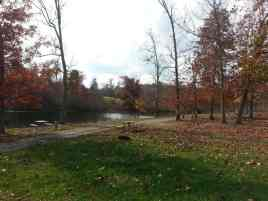 Ballyhoo Family Campground in Crossville Tennessee Lake View Sites