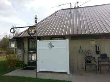 Ballyhoo Family Campground in Crossville Tennessee restrooms