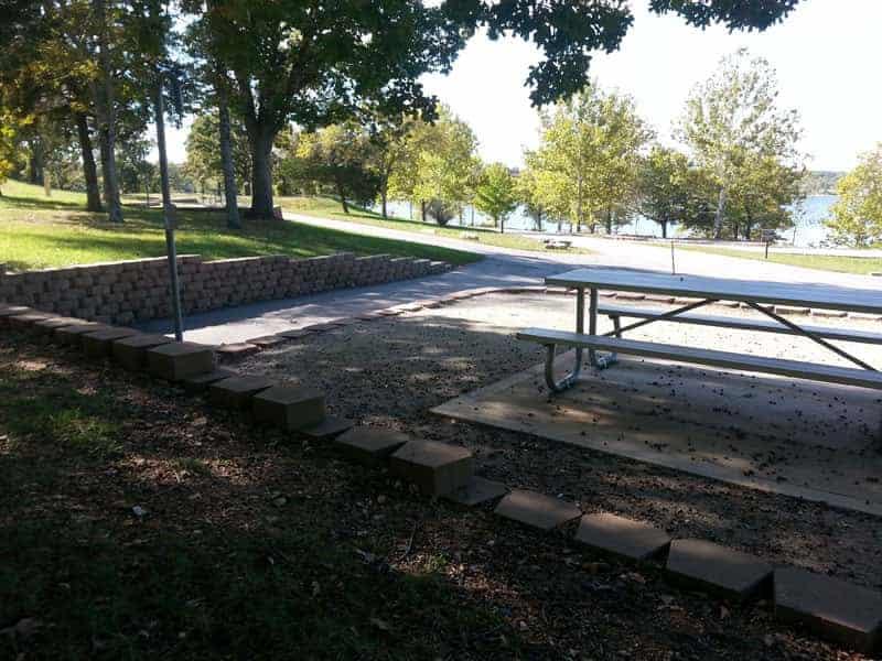 Baxter Campground In Lampre Missouri Backin