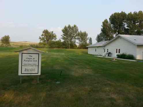 Bernie & Sharon's Riverfront RV Park in Garrison Montana Deer Lodge On Site Chapel
