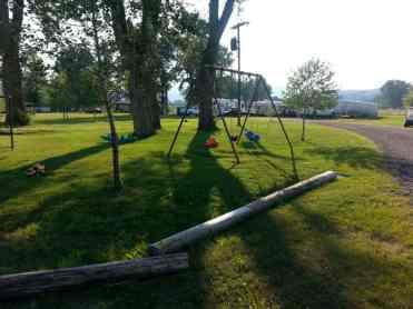 Bernie & Sharon's Riverfront RV Park in Garrison Montana Deer Lodge Another Playground