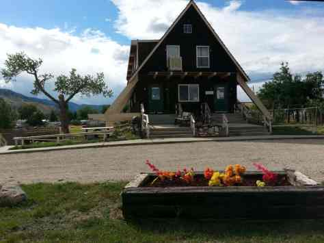 Big Horn Mountain Campground in Buffalo Wyoming Office