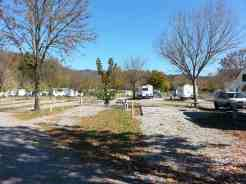 Big Meadow Family Campground in Townsend Tennessee Pull thru