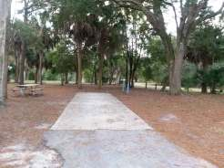 Bill Frederick Park and Pool at Turkey Lake in Orlando Florida Backin