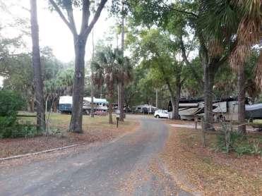 Bill Frederick Park and Pool at Turkey Lake in Orlando Florida Roadway
