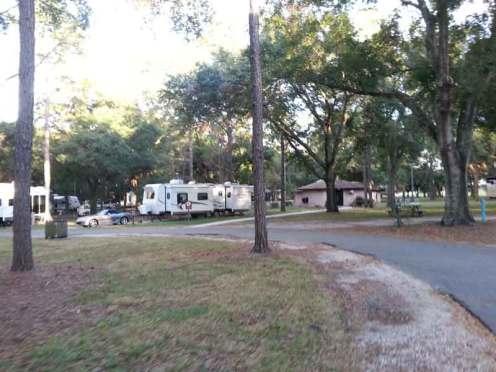 Bill Frederick Park and Pool at Turkey Lake in Orlando Florida Roadway Turn