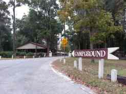 Blythe Island Regional Park in Brunswick Georgia Entrance