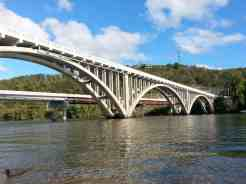 Branson Lakeside RV Park in Branson Missouri Bridge View from Park