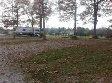 Breckenridge Lake Resort in Crossville Tennessee backin