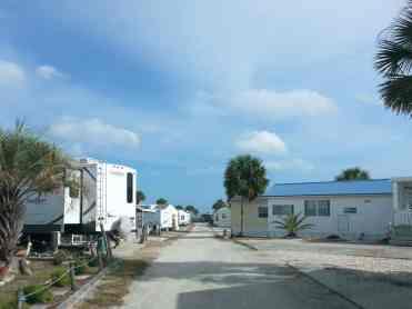 Bryn Mawr Ocean Resort in Saint Augustine Florida Roadway