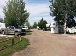 Buffalo KOA in Buffalo Wyoming Roadway