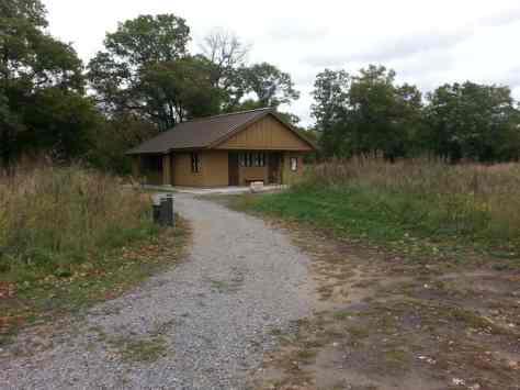 Bunker Hills Campgrounds in Coon Rapids Minnesota restroom