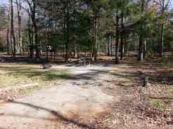 Cades Cove Campground in the Great Smoky Mountains National Park near Townsend Tennessee Backin