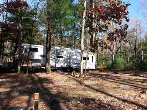 Cades Cove Campground in the Great Smoky Mountains National Park near Townsend Tennessee Large Site