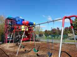 Claboughs Campground in Pigeon Forge Tennessee large playground