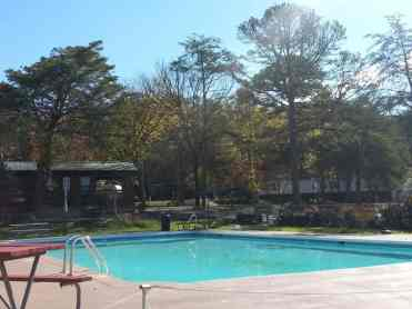 Claboughs Campground in Pigeon Forge Tennessee pool