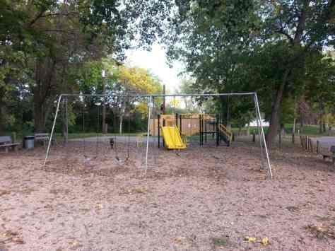 Codington County Memorial Park in Watertown South Dakota Playground
