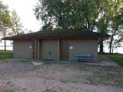 Codington County Memorial Park in Watertown South Dakota restroom