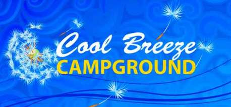 Cool Breeze Campground in Galax Virginia Logo