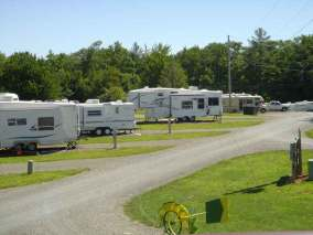 Cool Breeze Campground in Galax Virginia Pull Thrus
