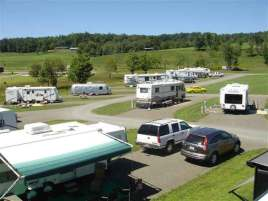 Cool Breeze Campground in Galax Virginia RV Sites
