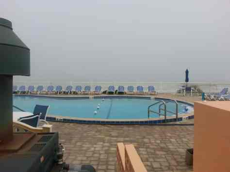 oral Sands Oceanfront RV Resort in Ormond Beach Florida Pool