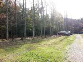 Cosby Ranch and RV Park in Cosby Tennessee Backin