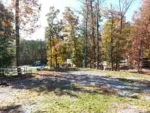 Cove Mountain Resorts RV Park in Sevierville Tennessee backin