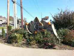 Cove Creek RV Resort in Sevierville (Wears Valley) Tennessee Entrance Sign