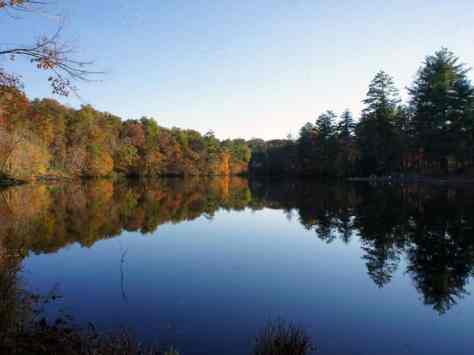 Cumberland Mountain State Park in Crossville Tennessee Lake