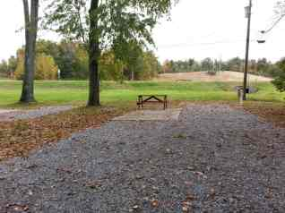 Cypress Lakes RV Park in Calvert City Kentucky Backin Short Term Site