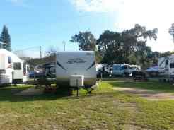 Daytona Beach KOA in Port Orange Florida Backin