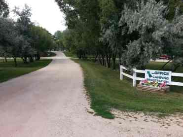 Deer Park RV Park and Campground in Buffalo Wyoming Entrance