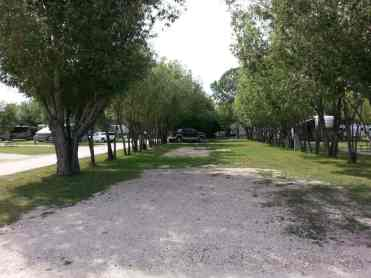 Deer Park RV Park and Campground in Buffalo Wyoming Large Pull thru