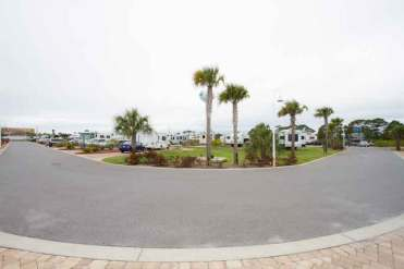 Destin West RV Resort in Fort Walton Beach Florida Sites