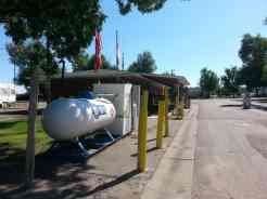 Dicks RV Park Great Falls Montana Propane Fill